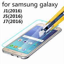 Tempered Glass For Samsung Galaxy J1 J5 J7 (2016) J120F J510F J710F Screen Protector Protective Screen Film