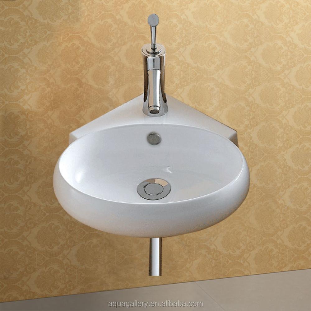 Corner Mounted Small Wash Hand Basin