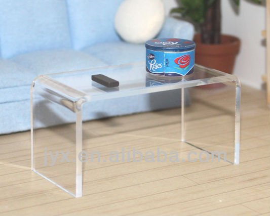 htm felicity acrylic clear bookmark table coffee