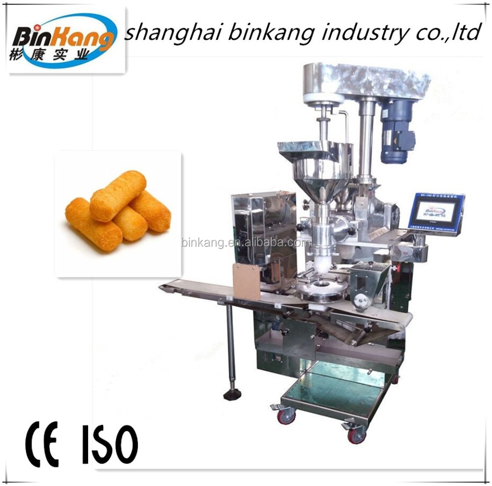 automatic encrusting machine and croquette machine