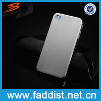 Fashion Hard Back Case Cover for Apple iphone 4 4g Aluminum Case