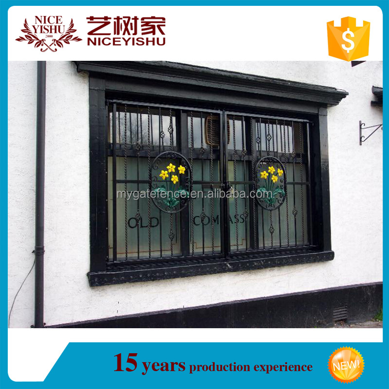 2016 Latest House Iron Window Grill Design Modern Simple Steel Window Grill Design Iron Window Grills Color View Latest Window Grill Design Yishujia Product Details From Shijiazhuang Yishu Metal Products Co Ltd On Alibaba Com