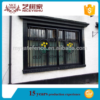 2016 Latest House Iron Window Grill Designmodern Simple Steel