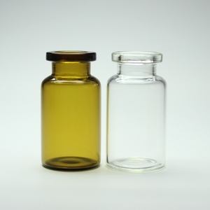 Shandong Packaging 10ml Pharmaceutical Amber and Clear Tubular Glass Bottles Vials