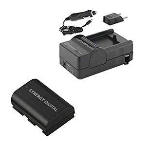Canon EOS 5DS R Digital Camera Accessory Kit includes: SDLPE6 Battery, SDM-1511 Charger