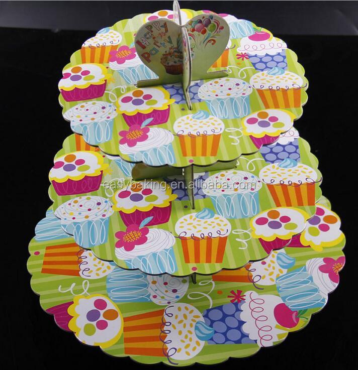 cardboard cupcake stsand