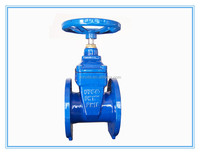 Rubber-Seat Non Rising Stem Gate Valve
