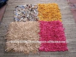 Cotton MODERN WASHABLE Rug WITH SOLID COLOR