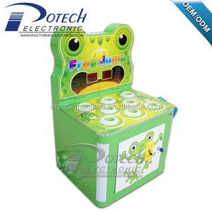Funny guangzhou game hit frog redemption game arcade hammer hit game machine for kids