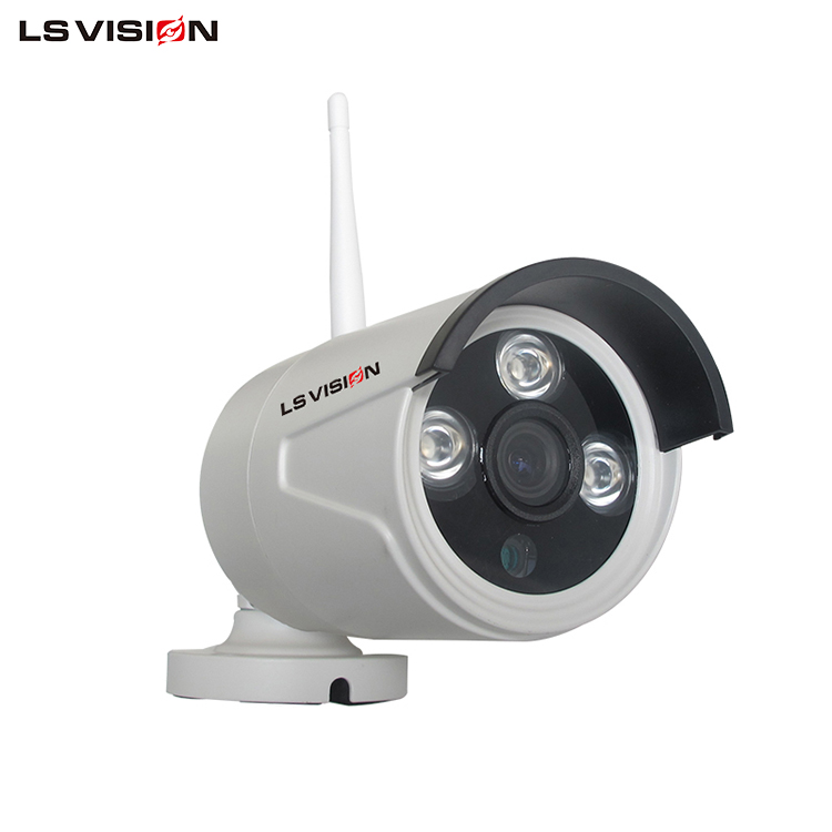 LS VISION HD New H.265 4CH 1080P Smart Home WIFI Wireless IP NVR Security KIT Camera Max Support 8TB HDD Slot