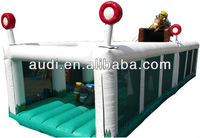 2 Parts inflatable obstacle course (Race Course fun run)
