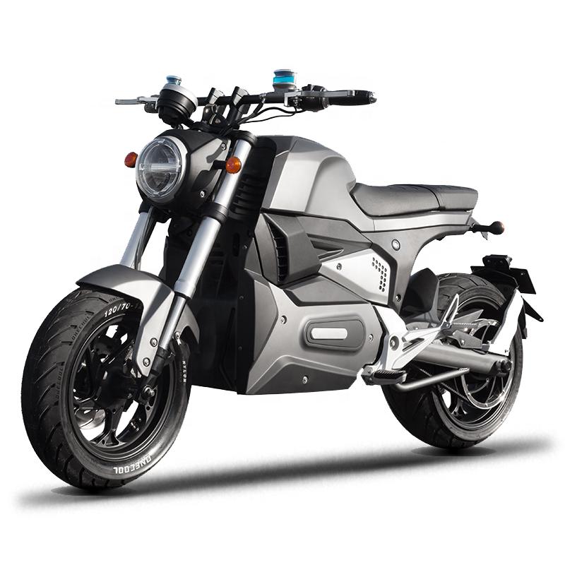 Eec Fashion Design 3000w Motor Full Size Motorcycle Long Range Electric M6 With Disc Break