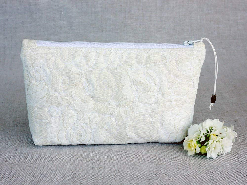 Get Quotations Wedding Bridesmaid Lace Handbag Clutch White Ivory Bride Mother Of The Gift