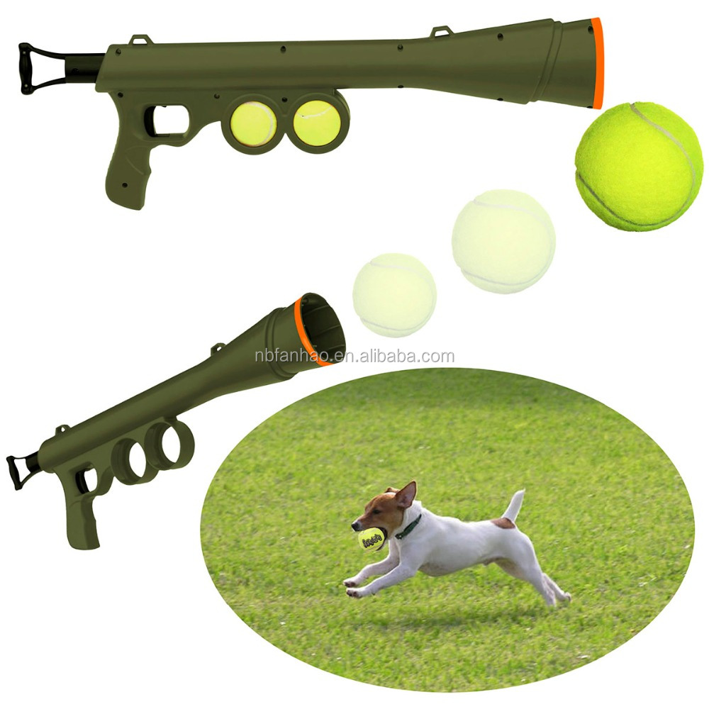 FunPaw Pet Training Launcher, Dog Toy With Tennis Ball Inside, Tennis Ball Thrower