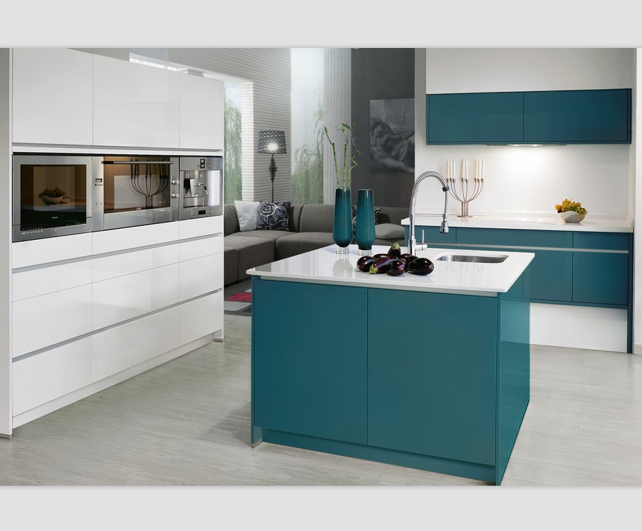 Blue Lacquer High Gloss Finish Kitchen Cabinet - Buy Blue Lacquer Kitchen  Cabinets,High Gloss Kitchen Cabinet,Kitchen Unit Product on Alibaba.com