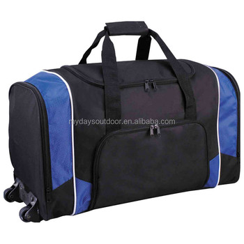 Carry On Luggage Rolling Duffle Trolley Bag Wheeled Travel Tote