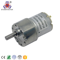 20v Electric dc motor with reduction gearbox , gear motor for Massage Chair