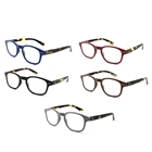 New design cheap plastic optimum retro reading glasses