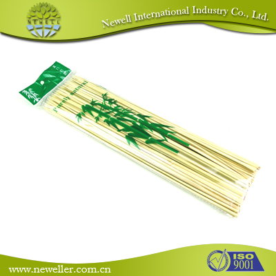2015 Eco-friendly microwave meat grill disposable bamboo stick