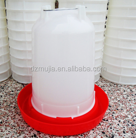 Poultry drinkers Plastic water bowl for chicken chicken water dispenser