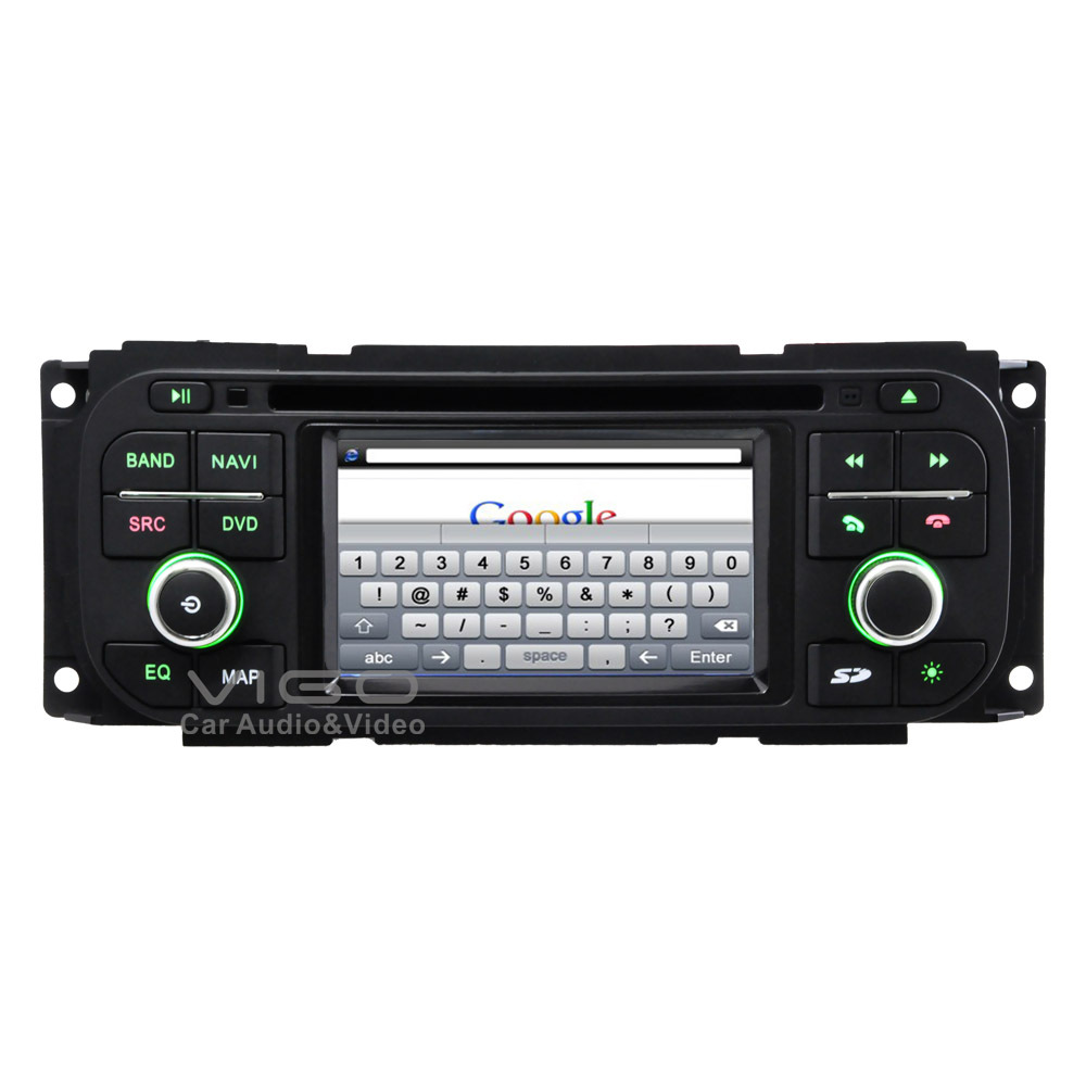 car stereo gps navigation for jeep grand cherokee wrangler liberty radio rds dvd player. Black Bedroom Furniture Sets. Home Design Ideas
