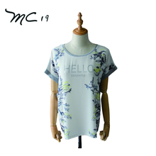 Professional Manufacture Cheap Printing Woman Custom T-Shirt Print