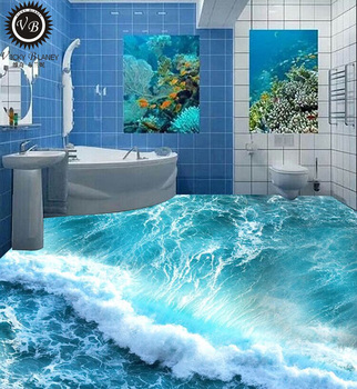 Digital Print 3d Picture Bathroom Wall And Floor Tile