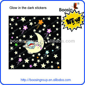 New Hot selling glow dark ceiling stickers
