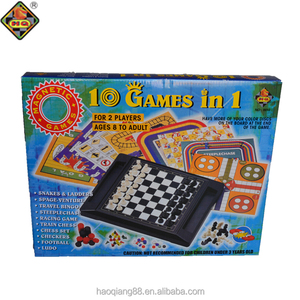 Promotional educational 10 in 1 magnetic board game puzzle board game