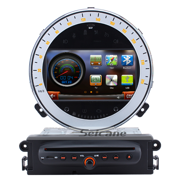 seicane t7127 top 2011 2012 2013 2014 2015 for bmw mini cooper touch screen gps radio navigation. Black Bedroom Furniture Sets. Home Design Ideas