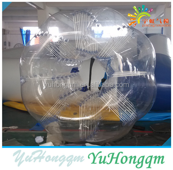 New design factory price bumper ball body zorbing bubble ball fashion inflatable soccer ball