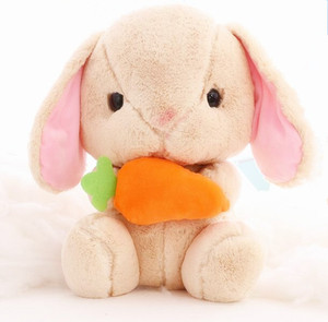 China cheap toys wholesale price easter decor promotional bunny doll rabbit plush animal toys