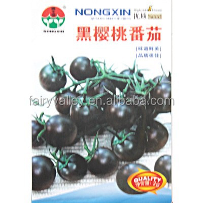 High Yield Hybrid Black Cherry Tomato Seeds For Growing-Black Cherry