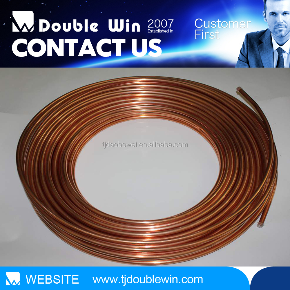 Refrigeration copper tube copper pipe price per kg buy for Copper pipe cost