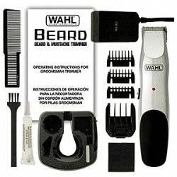 Wahl Groomsman Rechargeable Cordless Beard and Mustache Trimmer (for Men)