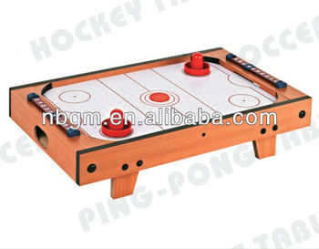 Mini Table Top Air Hockey Game Table With Leg