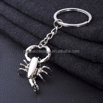 new arrival scorpion keychain key ring key holder key chain