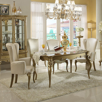 New Classic Neoclassical Furniture Dining Table