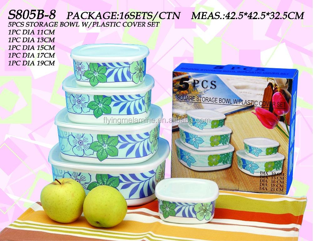 Melamine Storage Bowl With Lid Wholesale Storage Bowl Suppliers
