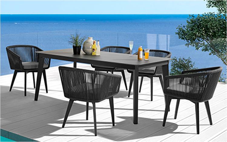 modern chinese outdoor restaurant furniture