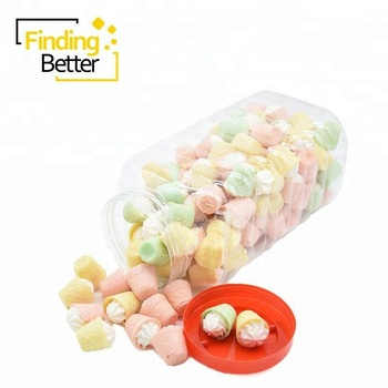 China Hersteller Gross Marshmallows Kuchen Eis Baumwolle Candy Fruit