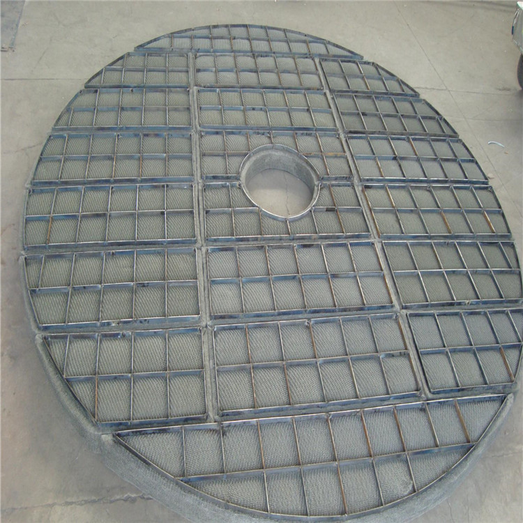 HangLi stainless steel 304 316L wire mesh demister / demister pad / mist eliminator in boiler steam drum
