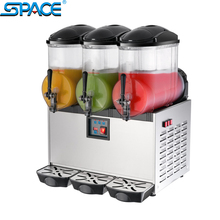 SPACE 3 bowls slush granita machine SC-3