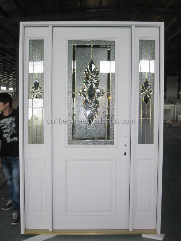 Water proof woodgrain texture PVC WPC door frame
