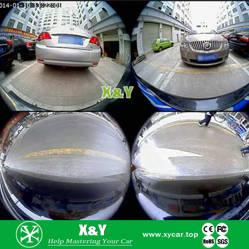 360 car blind spot asssist degree birdview cctv camera with certificate XY-360