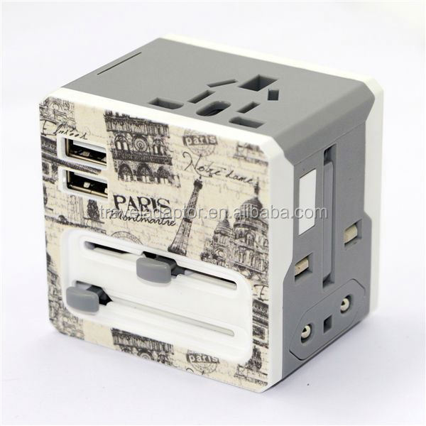 Factory direct sale Christmas gifts in bulk plastic pro motive logistics gift ac multi universal plug adapter