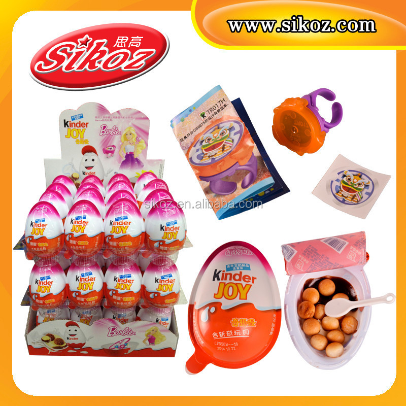 SK-Q165 Surprise Kinder Chocolate Egg with Toy