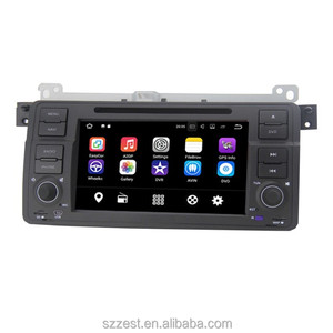 best Android 7.1 RAM 2G / 1G Quad core HD touch screen 2 DIN Car DVD GPS Radio stereo For BMW E46 M3 E39 X5 3G GPS dvd player