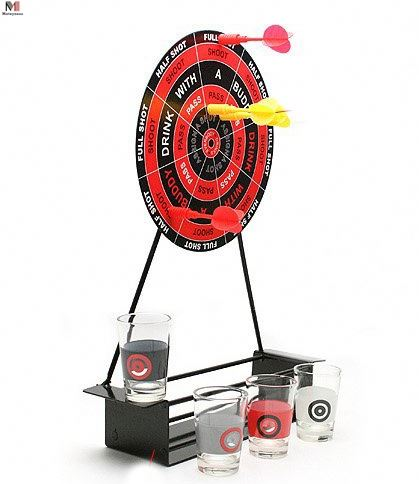 Game Night Mini Darts Borrelglas Set Game