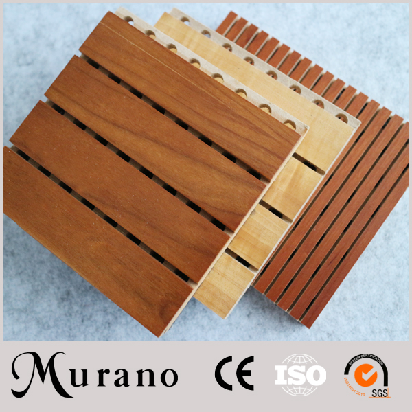Solve Your Noise Problem wood panel